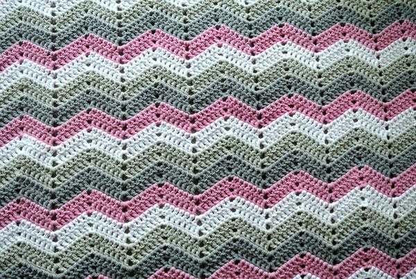 Zig-Zag Blanket Tutorial Beautiful Crochet Stuff