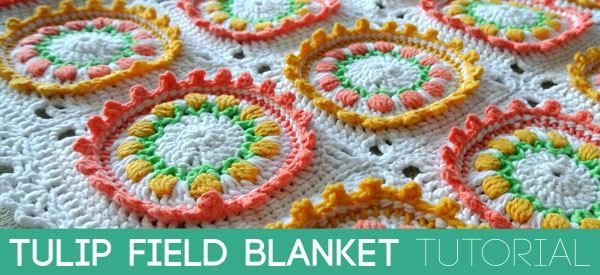 Tulip Field Blanket Tutorial