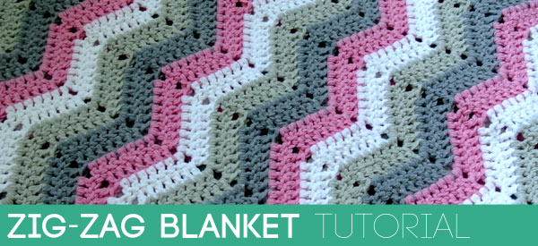 Zig Zag Blanket Tutorial Beautiful Crochet Stuff