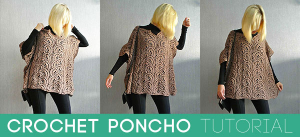 Crochet Poncho Tutorial