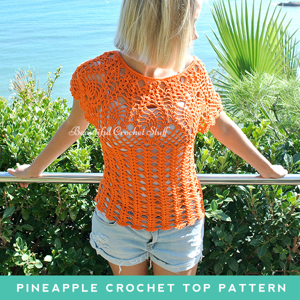 Pineapple Crochet Top Pattern