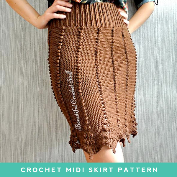 Crochet Midi Skirt Pattern