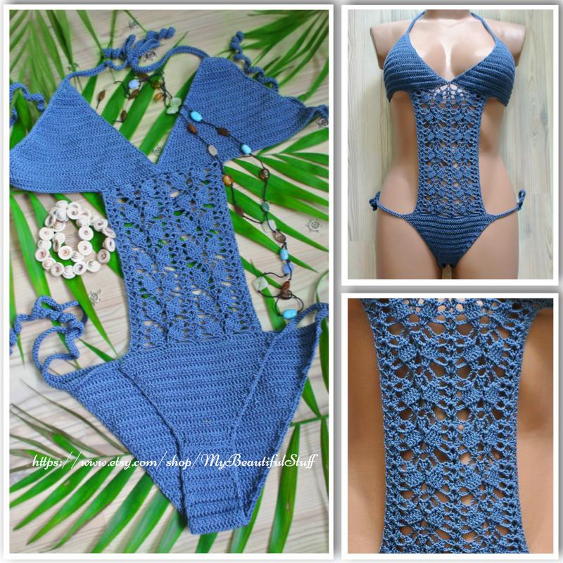 crochet monokini pattern